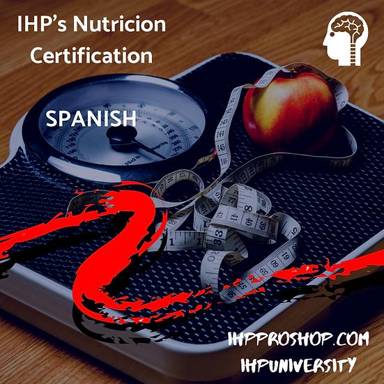 IHP Nutricion Funcional Curso