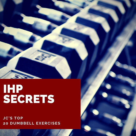 JC's Top 20 Dumbbell Exercises Downloadable Video