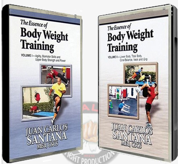 The Essence of Bodyweight Training DVD Vol. 1 & Vol 2
