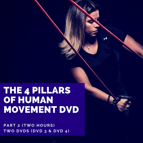 The 4 Pillars of Human Movement DVD (Part 2) Two Hours!