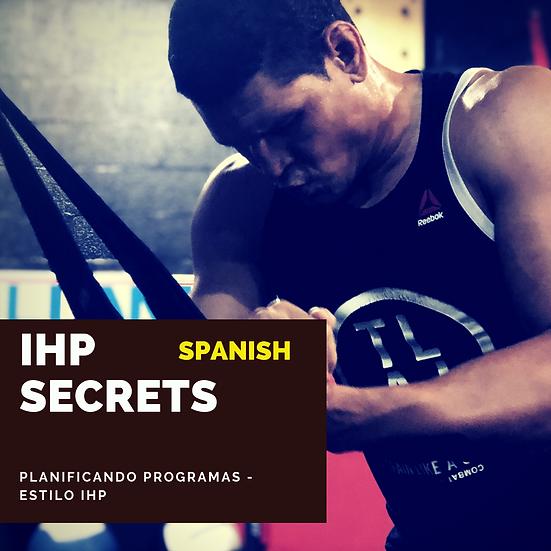 Planificando programas - estilo IHP!
