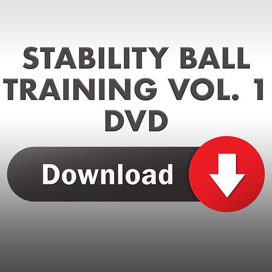 The Essence of Stability Ball Training Vol. 1 (Downloadbale DVD)