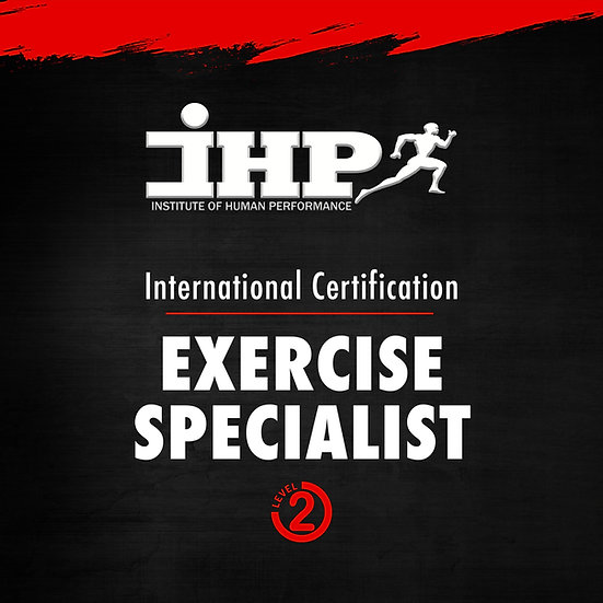 IHPU Level 2 (Exercise Specialist) Certification
