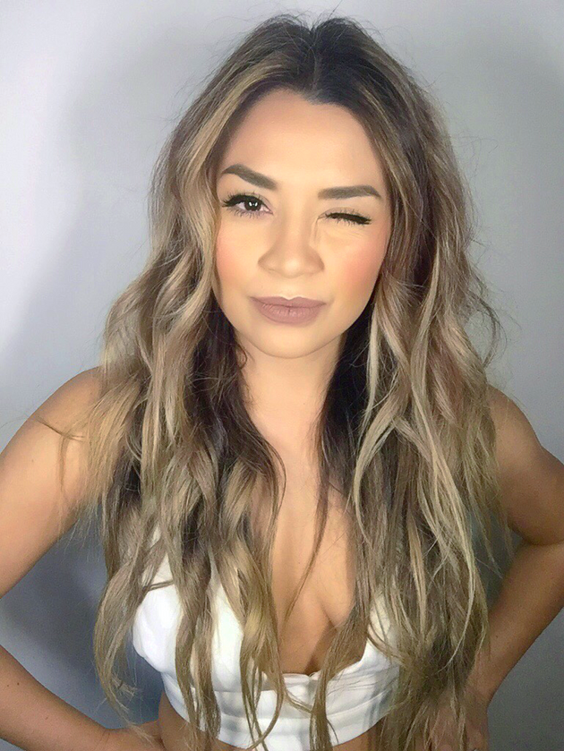 Messy sexy soft waves