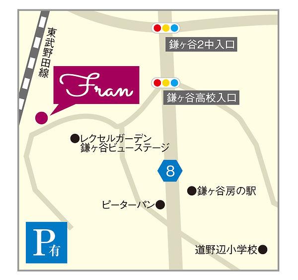 フランmap