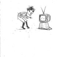 Joe and the telly