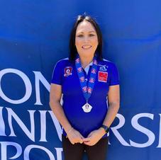 2020 QFAW Div2 Medallist; Shereen Weeding