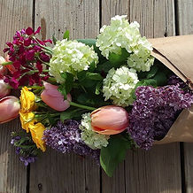 The Stock and Lilac in this bunch just m
