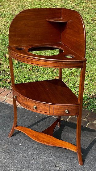 19th Century George III Washstand