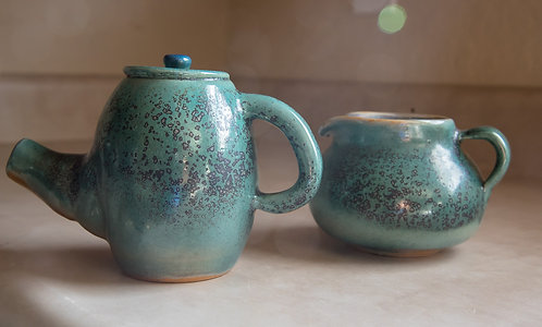 Tea Pot and Pitcher