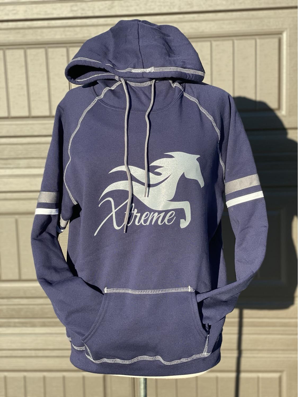 Seneca: Tri colored hoodie