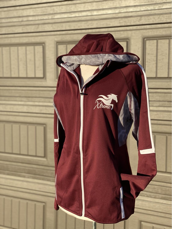 Ness: Athletic wear zip up hoodie
