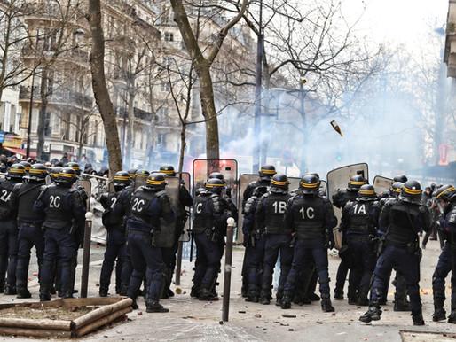 Manifestaciones en la U.E