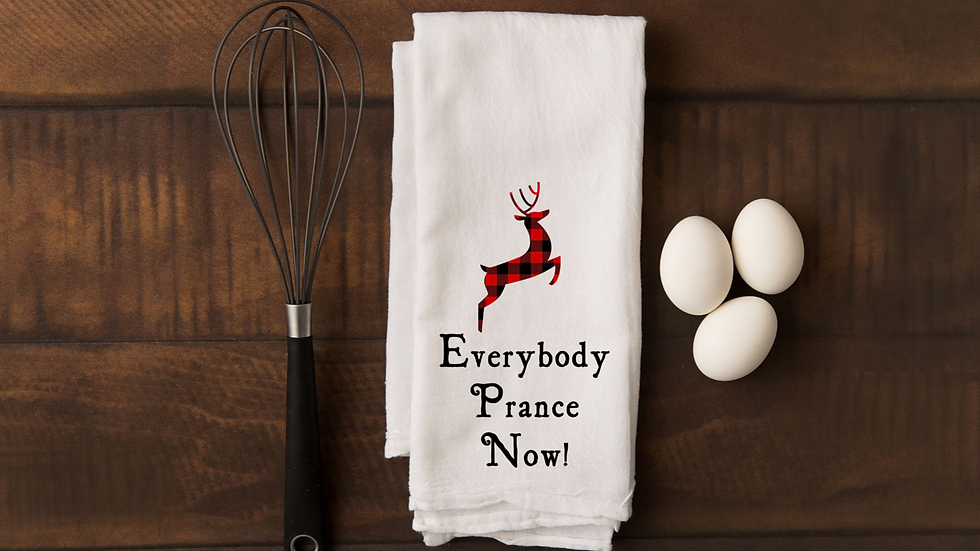 Towel - Everybody prance now