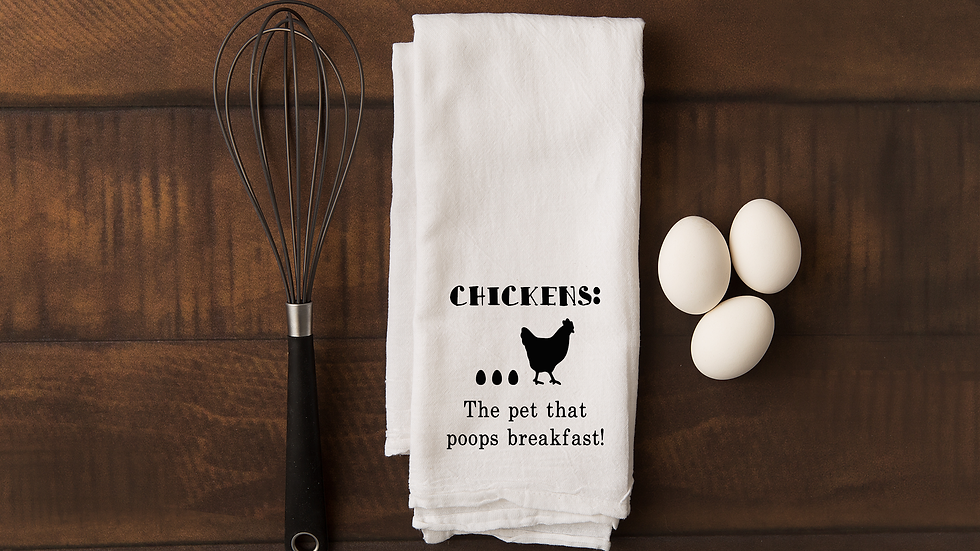Chicken: The Pet That Poops Breakfast