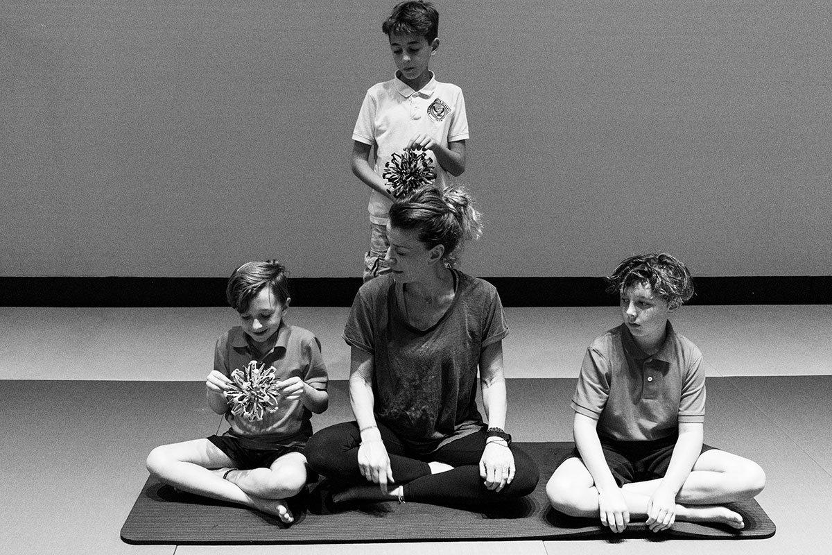 Online Yoga & Art   Group