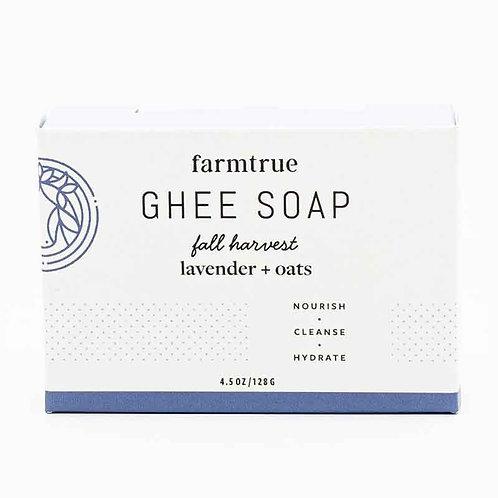 Lavender + Oats Ghee Soap