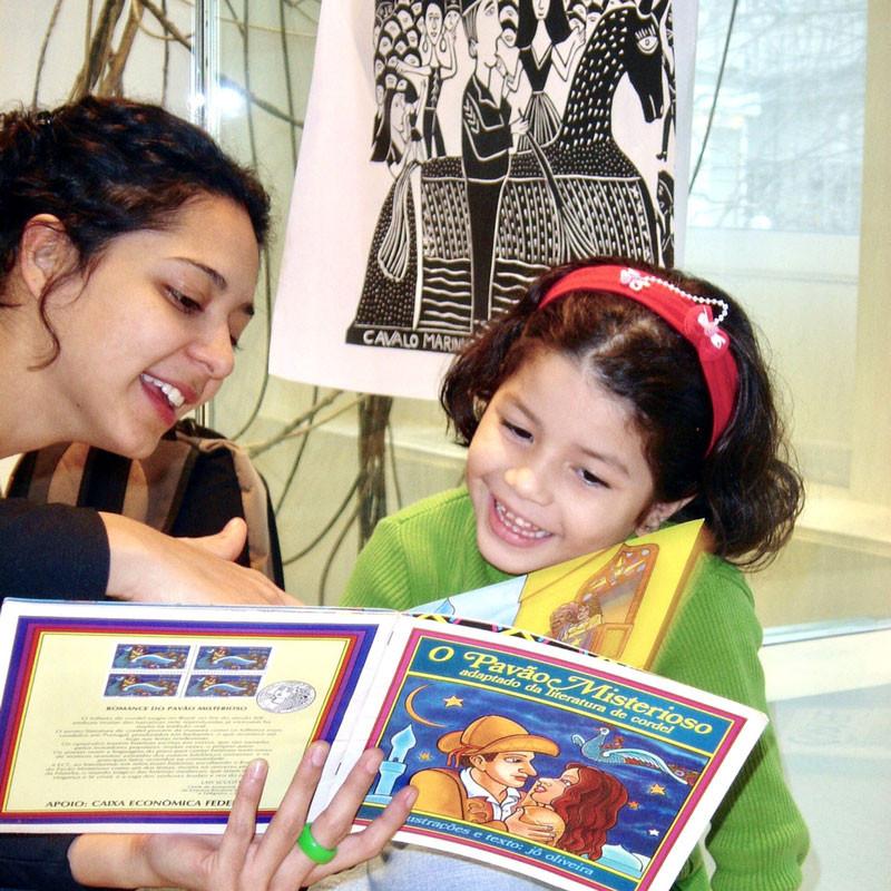 Atividades de leitura e contos para crianças, Saci-Perere, Paris