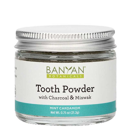 Tooth Powder With Charcoal and Miswak