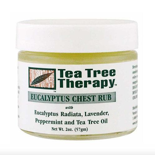 Eucalyptus Chest Rub (Tea Tree Therapy)