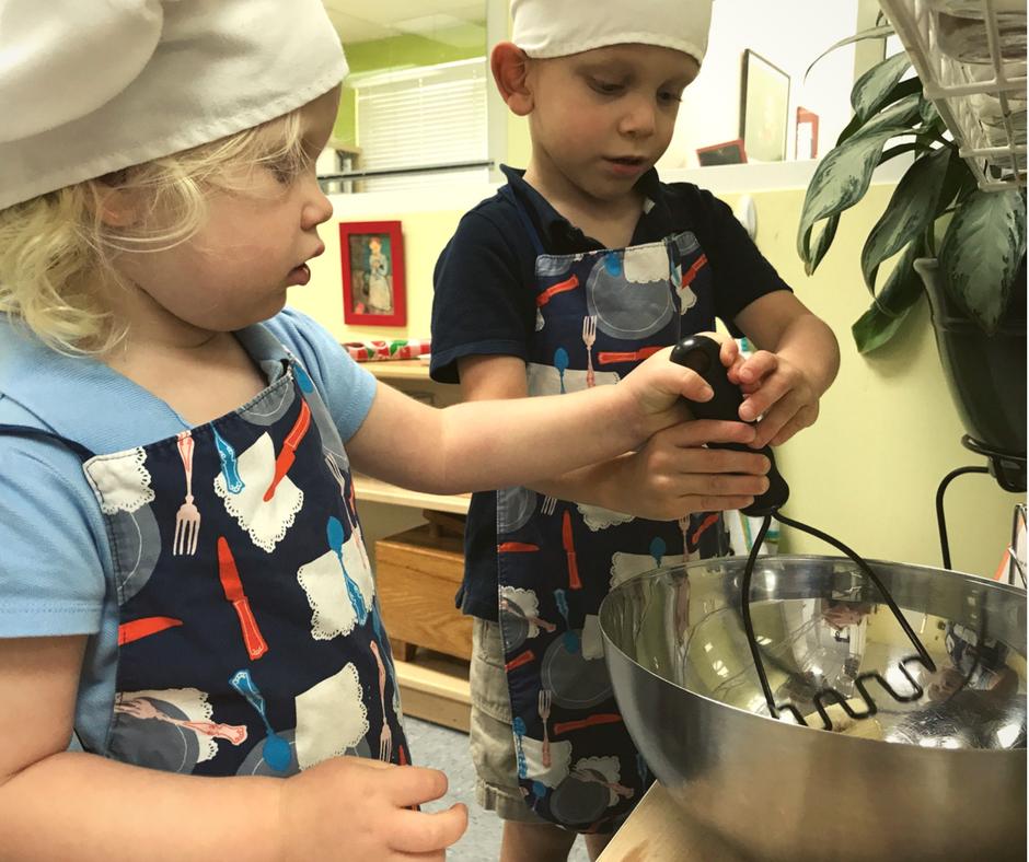 Village Montessori, All day Montessori program, Cooking Lessons