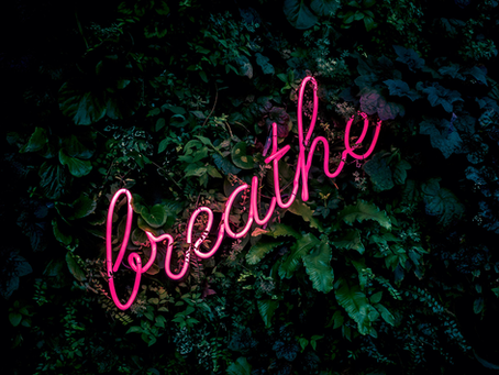 Are you breathing? I mean, genuinely getting inspired?