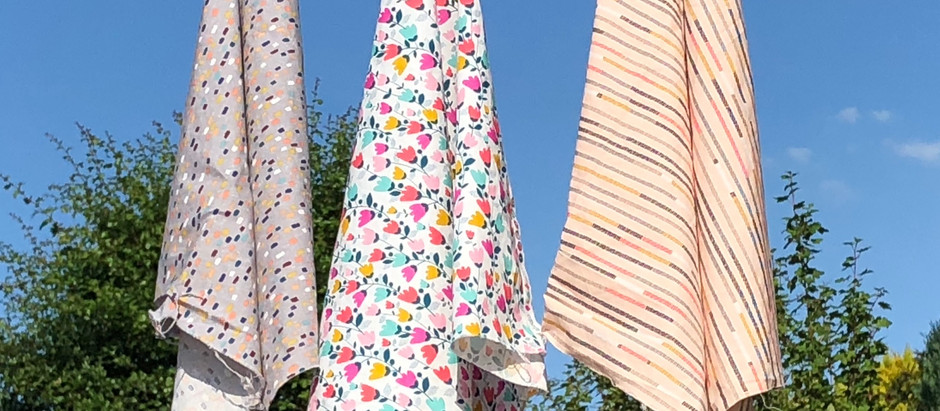 A sunny day on the clothes line
