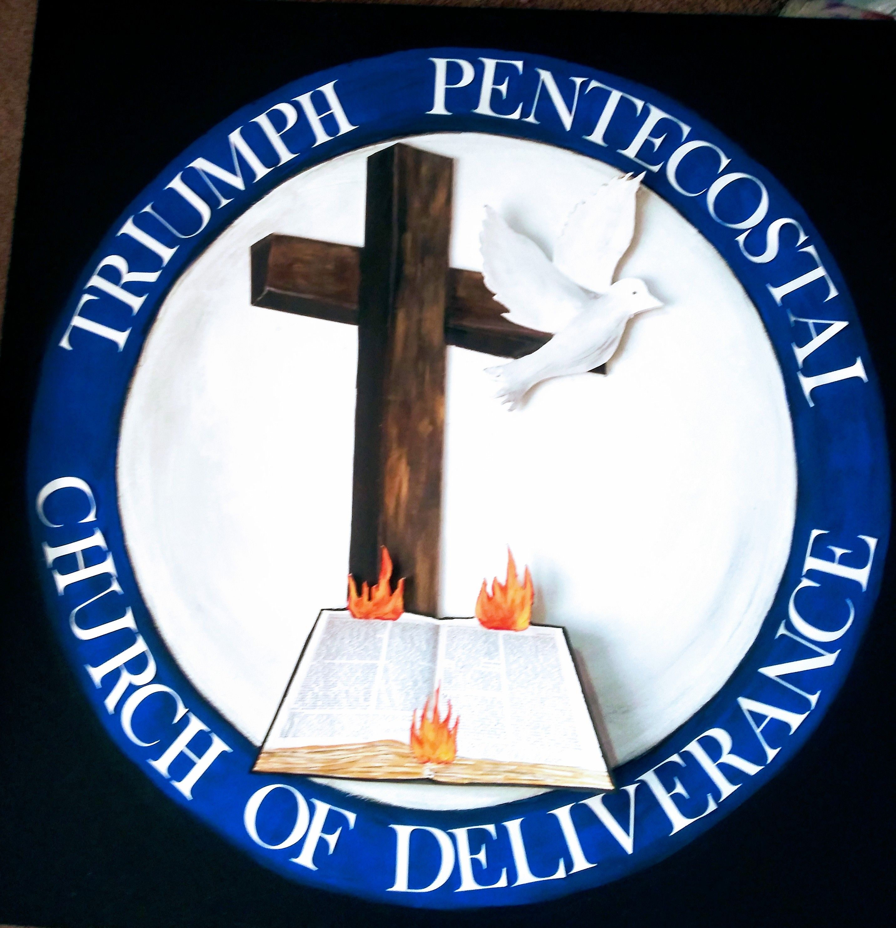 DESCRIPTION: Church Logo Sign