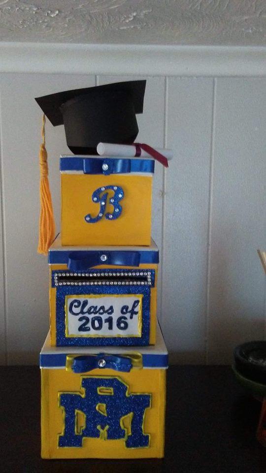 DESCRIPTION: Graduation Card Box