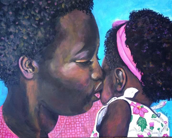 DESCRIPTION: Mama's Kisses