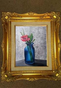 DESCRIPTION: In the Blue Vase Small