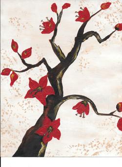 DESCRIPTION: Red Blossoms