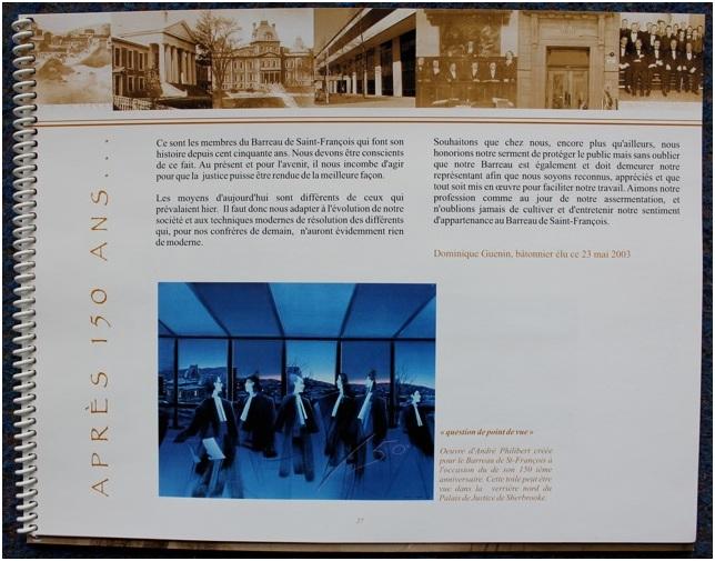 150e ANNIVERSAIRE DU BARREAU SAINT FRANCOIS