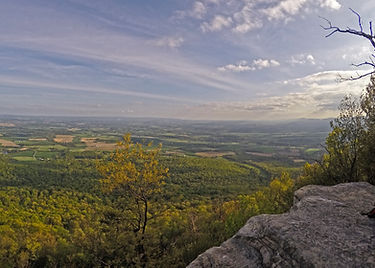 View from Flat Rock overlook