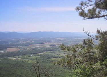 View from Fetzer Gap