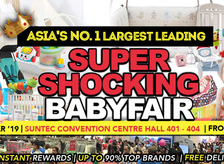 Supermom Baby Fair Booth P08!