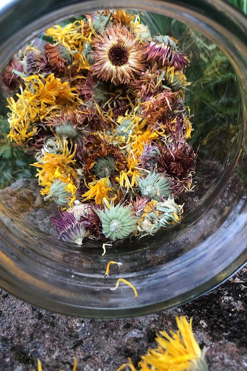 Calendula -Dried Whole Blossoms