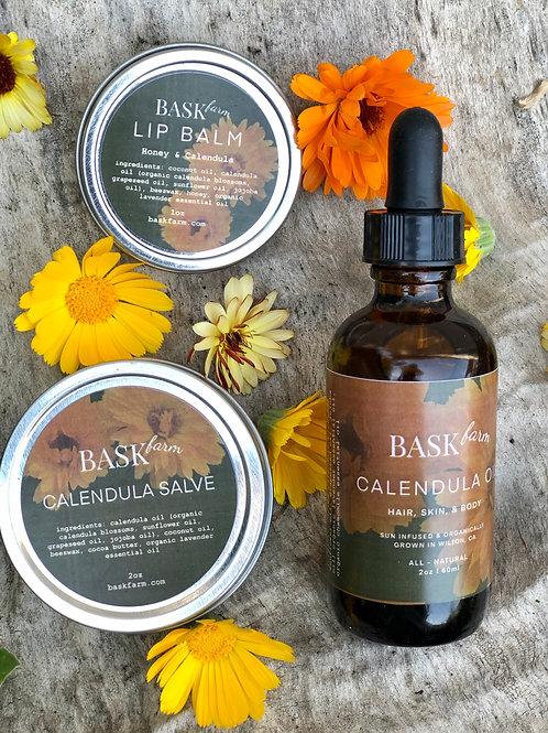 Bask Farm Calendula Set