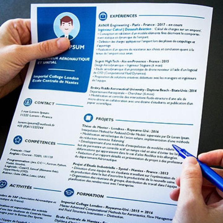 Atelier CV, lettre de motivation et entretien d'embauche
