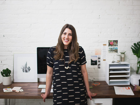 Woman to Watch: Katie Hart, Designer of Odd Daughter Paper Co.