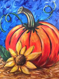Pumpkin Sunflower