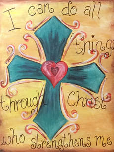 Cross I can do all things
