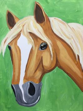 Horse Golden