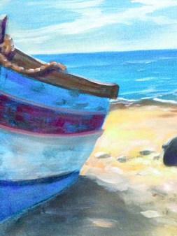 Boat in Sand