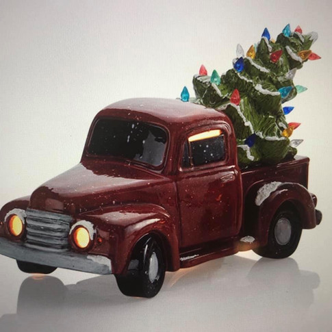 """Truck with Tree 12"""""""