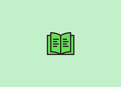 Ícone lendo