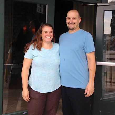 Megan and Jeremy Kendall, owners of The Homesteader Cafe in the River Market in Kansas City