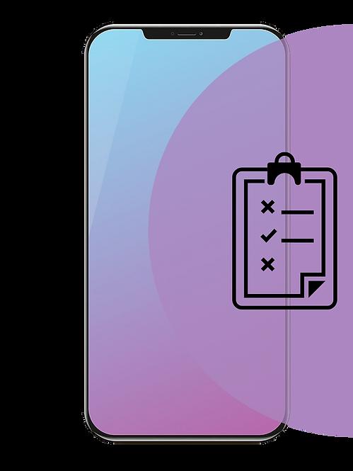 Basic iPhone Diagnostic Service