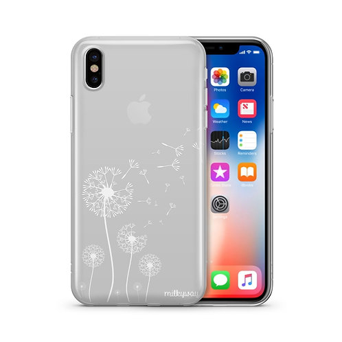 Dandelion - Clear TPU iPhone Case