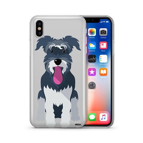 Schnauzer - Clear TPU iPhone Case